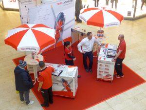 Die Mitarbeiter der service94 GmbH bei der Arbeit