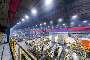 Perfekte Arbeitsbedingungen dank moderner LED-Leuchten