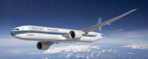 Mit Flugzeugen vom Typ Boeing B777-300ER fliegt China Southern Airlines in die USA