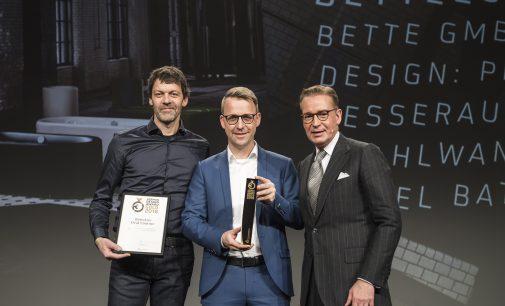 Bette bei der Preisverleihung des German Design Awards