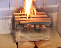 Feueranzünden von oben – die umweltschonende Methode