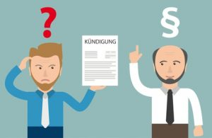 Ein Anwalt für Arbeitsrecht kümmert sich um rechtliche Probleme bei der Arbeit, z.B. Kündigungen.