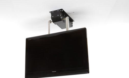 Elektrische TV Halterung für die Montage an die Decke