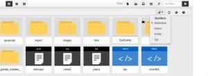 Der neue Datei-Manager im Master Update 3.8