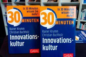 Das neue Buch von Rainer Krumm: 30 Minuten Innovationskultur