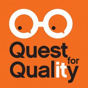 Logo der Entwicklerkonferenz Quest for Quality 2018