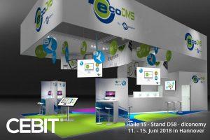 ecoDMS stellt in Halle 5 an Stand D58 u.a. ecoDMS & ecoMAILZ vor