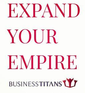 Der Slogan des Kult-Startups Business Titans