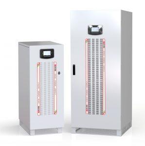 Die neuen Energiespeichersysteme von Riello arbeiten mit Li-Ionen-Batterien von GS YUASA.