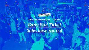 Plunet Summit 2018 - Early Bird-Ticketverkauf