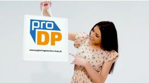 Papiertragetaschen bedrucken mit Pro DP Verpackungen