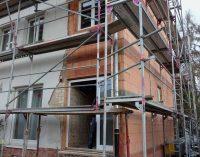 Do it yourself: Heimwerker haften, wenn der Sturm am Baugerüst rüttelt