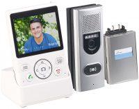 Somikon Funk-Türsprechanlage FSA-300 + Video-Übertragung