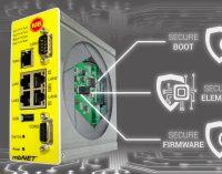 Industrierouter mit Security-Chip