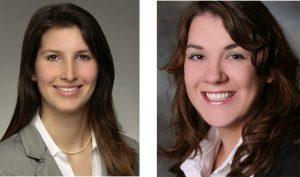 Die beiden Biologinnen Nina Zabel und Jana Fesseler (v. li.) verstärken das Team der BioRegio STERN