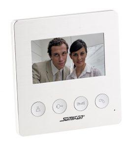 Video-Türsprechanlage VSA-400 mit Farbdisplay, LED-Licht und Türöffnungsfunktion