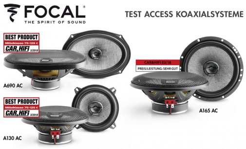 Beste Einstiegsdroge – FOCALs Access-Koaxials getestet