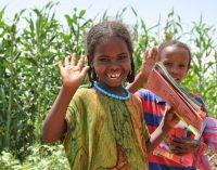 Schülerinnen und Schüler helfen Menschen in Äthiopien