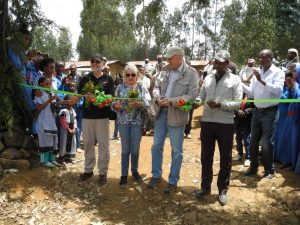 Feierliche Einweihung einer neuen Schule in Dega Hawi