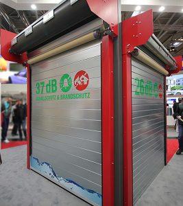 Die Rolltore von Buchele haben einen Schallschutz von bis zu 37 dB.