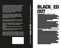"""Buch zum Welttag der Pressefreiheit: """"BLACK_ED OUT"""" – wie Zensur die Würde löscht"""