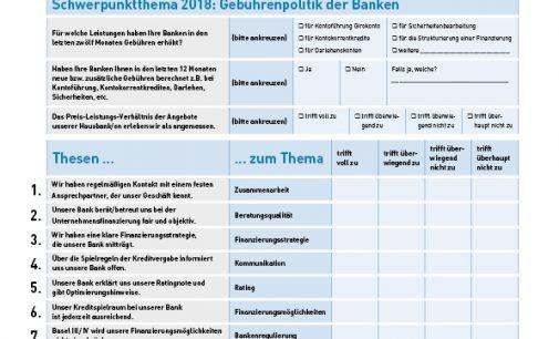 Verhandlungsmacht gegenüber Banken verbessern: Selbstscheck machen