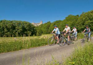 Die Wewelsburg ist nur eine von vielen  Sehenswürdigkeiten entlang der Paderborner Land Route.