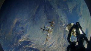 Der Blaue Planet wie ihn Astronauten mit der VUZE aus dem All sehen.
