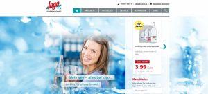 Die neue Website der logo-Getränkemärkte. Technisch realisiert durch die team digital GmbH
