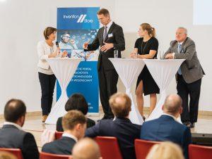 Diskutierten auf der Bundeskonferenz der TechnologieAllianz darüber, wie Deutschland seine Gründungs