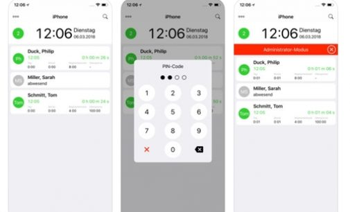 ZEP Clock App: Jetzt auch für iPhone und iPad