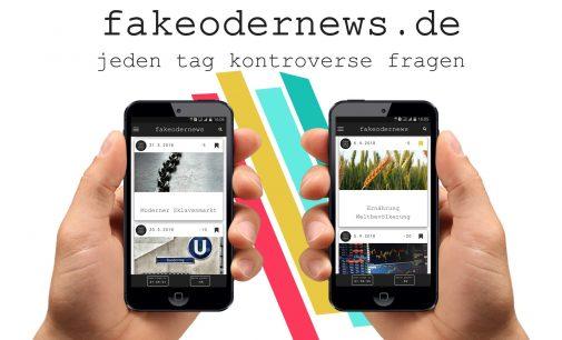Newsgame fakeodernews ist online