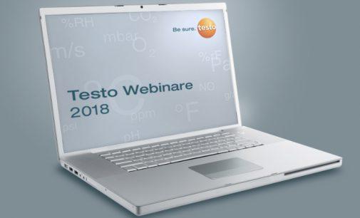Messtechnik-Webinare von Testo
