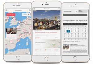Fleamapket zeigt die besten Flohmärkte der Welt auf einer interaktiven Karte