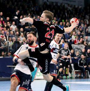 (Foto: HJKrieg, Erlangen): HC Erlangen: Christopher Bissel ist Spieler des Monats März