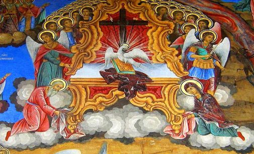 Potsdam: Pfingstfest der Gemeinde der russisch-orthodoxen Kirche des heiligen Alexander Newskij
