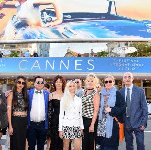 Künstler der 2nd International Fine Art Cannes Biennale während 71. Filmfestspiele in Cannes