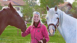 Stephanie Barth informiert auf der Pferd International zu seelischen Traumata und Energieräubern