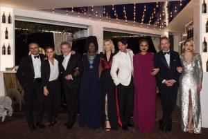 Die Jury der 71. Filmfestspiele in Cannes in der Mouton Cadet Wine Bar