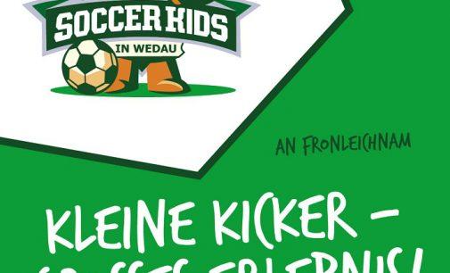 Wedau wird zum Mittelpunkt für unsere jüngsten Fußballer-/innen