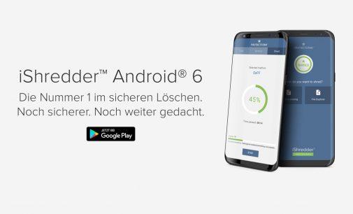 Daten militärisch sicher löschen mit iShredder Android 6