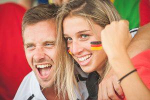 Ganz Deutschland ist wieder im Fußballfieber. Quelle: ERGO Group