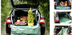 Transportwunder – Kofferraumschutz fürs Auto von Lacui