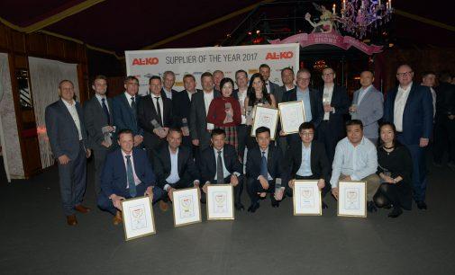 AL-KO Gardentech verleiht den TOP Supplier Award 2017