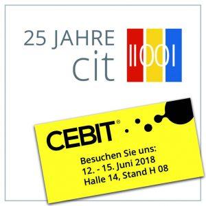 cit präsentiert auf der CEBIT die neuesten Produktentwicklungen.