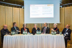 Beim Panel von ENGIE Deutschland diskutierten die Experten über intelligente Fassadenkonzepte.