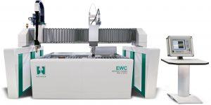 Die kombinierte Wasser-Plasma-Schneidanlagen der Hezinger Maschinen GmbH