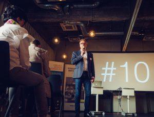Eröffnung der #10 durch den Veranstalter Stefan Wacker