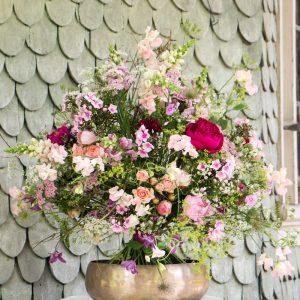 Floristik, Bio-Blumen, Blumensträuße, Vintage-Verleih, englisches Porzellan-Geschirr, Dekorationen