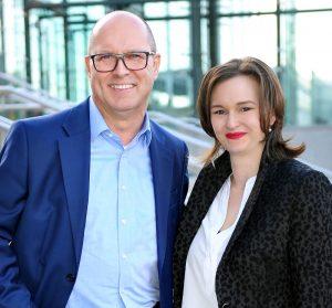 Lena und Horst Eckenberger bilden das neue Management-Team der encee CAD/CAM-Systeme GmbH
